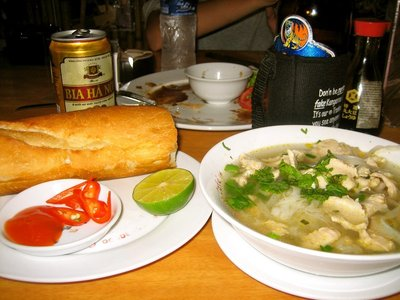 Living on a strict diet of pho and baguettes mmmmm
