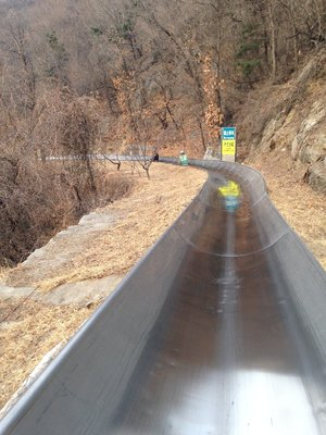 Mutianyu Great Wall Toboggan