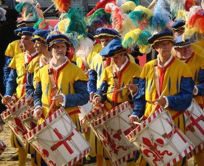 Calcio Storico - Renaissance Costumes