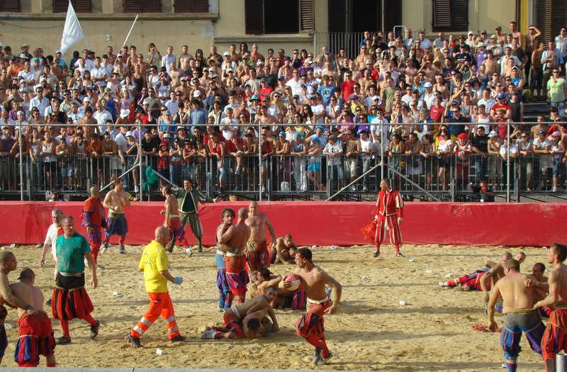 "Calcio Storico - ""Friendly"" Neighborhood Game"