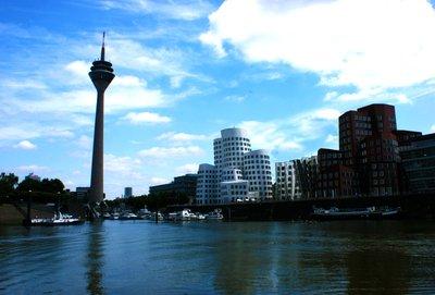 Dusseldorf Mediahafen, Germany
