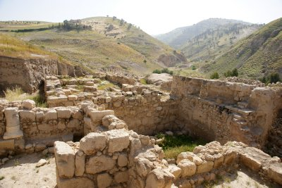 Extensive site of Pella with majority still burried underneath thousands of years old soil