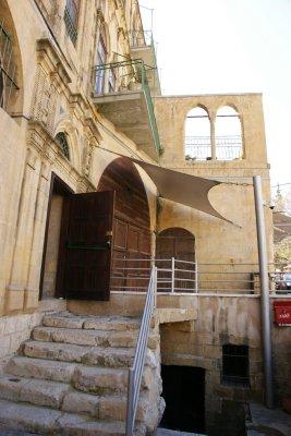 Historical museum in Al Salt - once hosted the King of Jordan