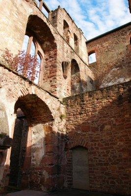 Ruins of the Heidelberg castle, Germany