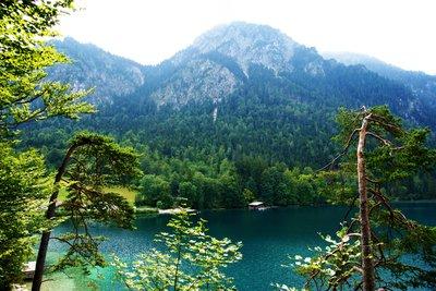 Alpsee, Schwangau area, Germany