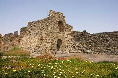 Main entrance into the Al-Azraq castle