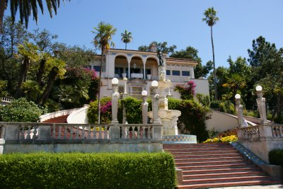 One of the guest houses called Casa del Sol, Hearst Castle, California, US