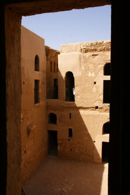 Qasr al-Kharana castle - one of the hypothesis is that it used to serve as an inn