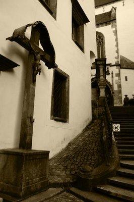 Hidden sights in Český Krumlov, Czech Republic