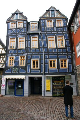 The crooked house in Idstein, Germany