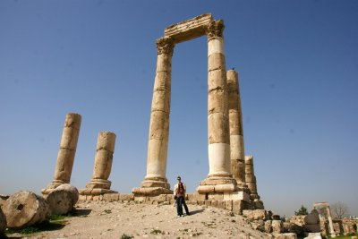 Hercules' Temple at the Amman Citadel Hill