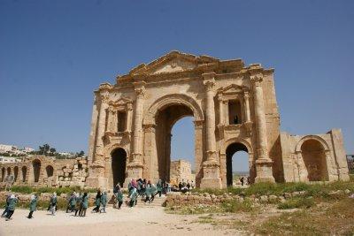 Hadrian Gate Jerash