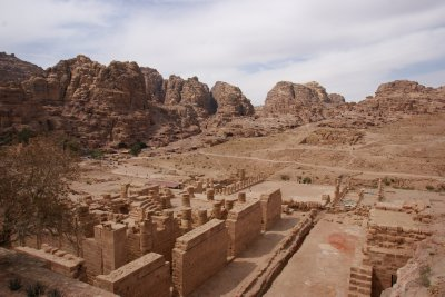 The great temple ruins