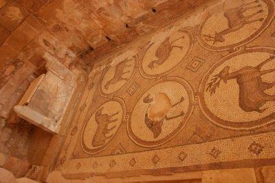 Mosaic in Petra