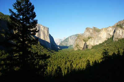 Yosemite Valley with El Capitan on the left, California, US