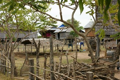 Village in the Kratie area 