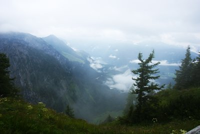 Berchtesgaden area viewed from Eagle's Nest, Germany