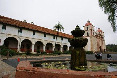 Santa Barbara mission, California, US