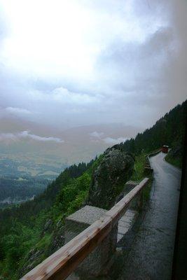 Mountain Road upto Eagle's Nest lift station, Berchtesgaden, Germany