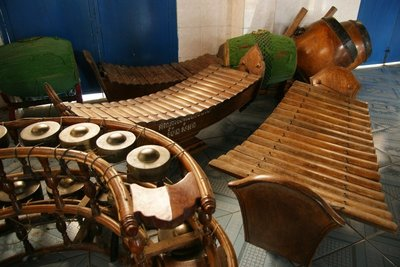 Musical instrumentz used during  udhist ceremonies