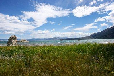 Unique landscape at the North Tufa part of Mono Lake, California