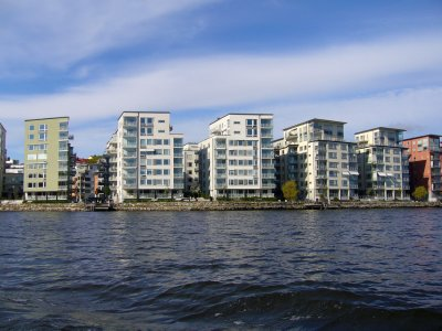 New housing developments at Stockholm islands