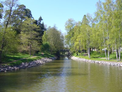 The waterways around Helsinki