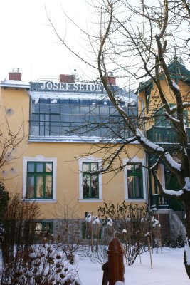 Photoatelier and Museum Josef Seidl in Cesky Krumlov with glassed roof to let in daylight