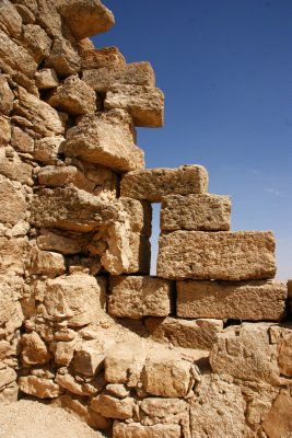 Ruins around the Umm Al-Rassas tower