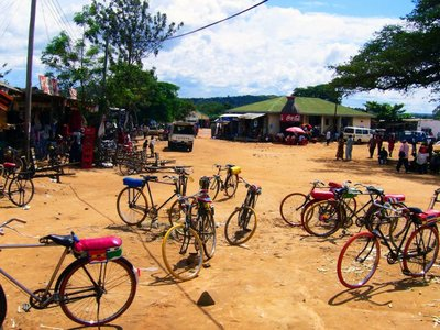 Village in North Tanzania, Africa