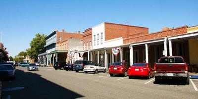 Street in Old Sacramento, California