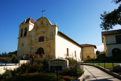 San Carlos church in Monterey, California