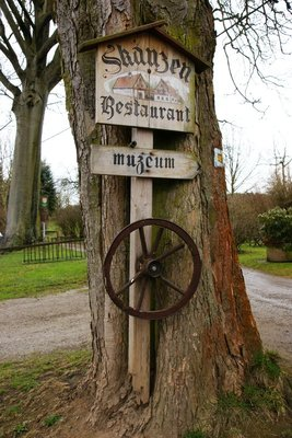 Museum sign in Doubrava