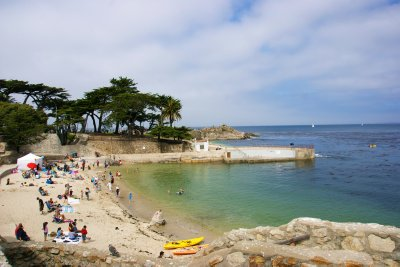Lover's Point at the Pacific Grove, Highway #1, California