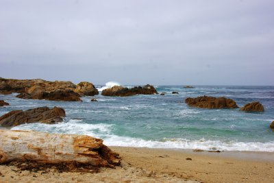 Coast at the Pacific Grove, Highway #1, California