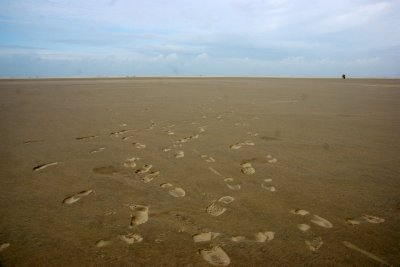 Enless beaches of Borkum