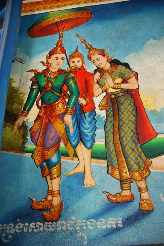 Pagoda frescoes