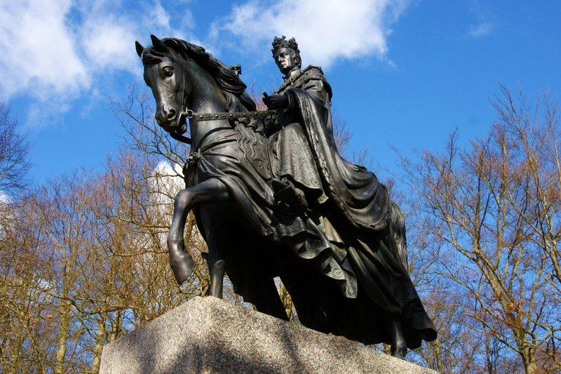 Frantisek Josef I. - the founder of Františkovy Láznĕ