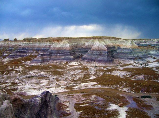 Painted Desert in Arizona, US