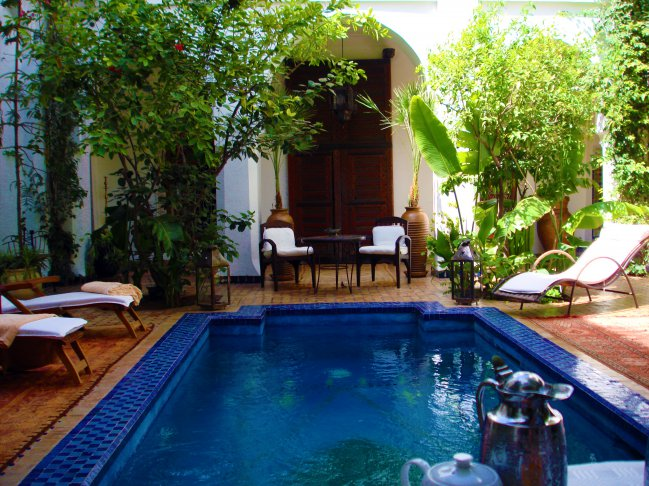 Riad in Marakesh, Morrocco - one of the Duke's favorites