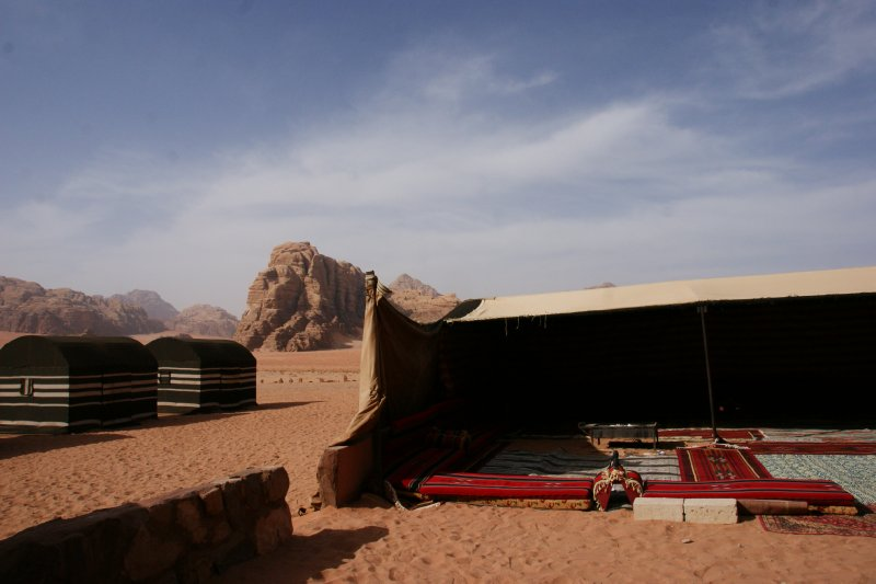 The Bedouin Camp of Bedouin Adventures
