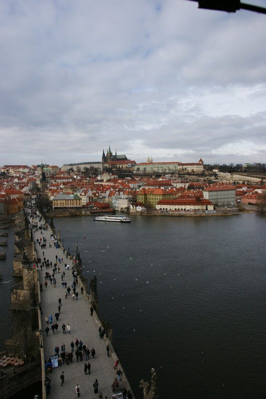 Charles Bridge from Old Town tower