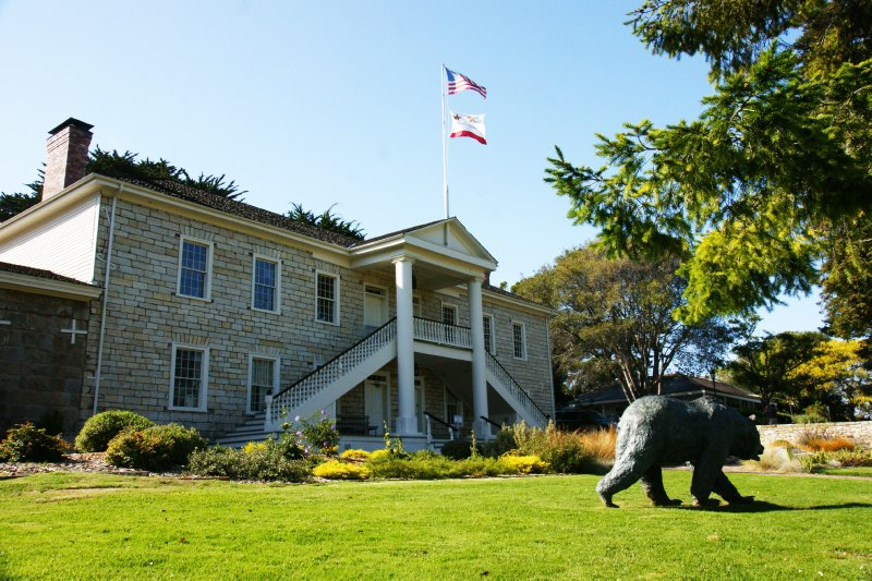 Colton Hall Museum, City Hall, Monterey, California