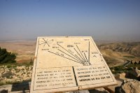 On a good day, views from Mount Nebo reach as far as Jerusalem