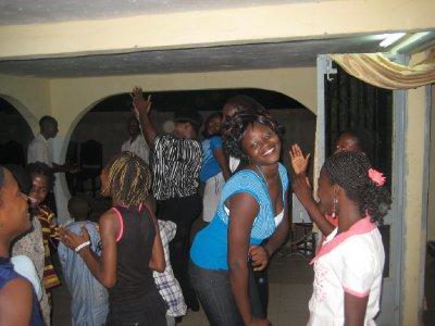 Marie-Christine danse