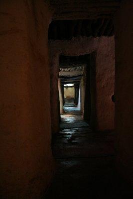 L'intérieur de la mosquée de Bobo