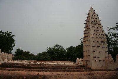 Le toit de la mosquée de Bobo