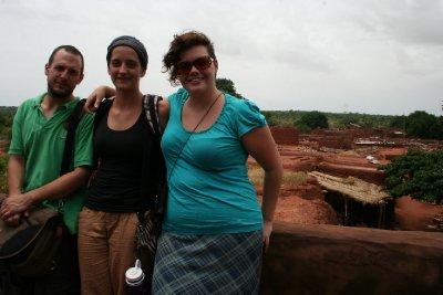 Alex, Arianne et Marie-Ève à Koumi
