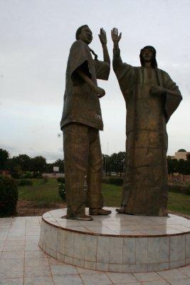 Kadafi et Compaoré