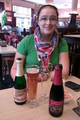 Moi et la bière belge